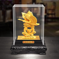 Golden appearance of the Wild goose Gift home desktop decor decoration ornaments(A791)