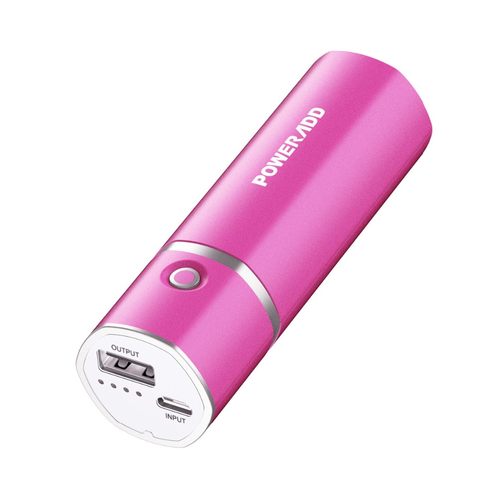 Poweradd 5000mAh Mini Power Bank Portable USB Ports External Battery Charger for iphone for Sumsung for Galaxy Mobile Phone