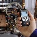 Testo 510 линейный датчик давления воздуха Цифровой Дифференциальный Манометр 0-100hPa (0563 0510/0560 0510) измерительные инструменты