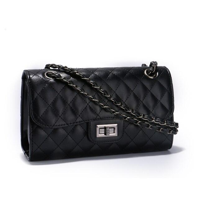 Classic crossbody bag for women quilted diamond lattice women messenger bag female chain bags