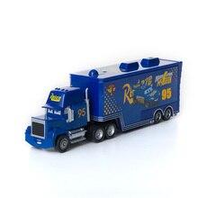 Disney Pixar Cars 2 3 Toys New No.95 Blue Truck Lightning McQueen Jackson Storm Mack Uncle 1:55 Diecast Model Car Toy Kids Gift