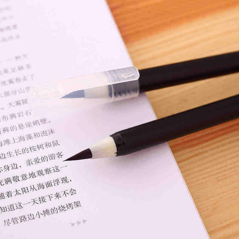 Stylo de lettrage à la main professionnel feutre pointe stylo pinceau marqueurs d'art pour dessin calligraphie écriture papeterie fournitures scolaires de bureau