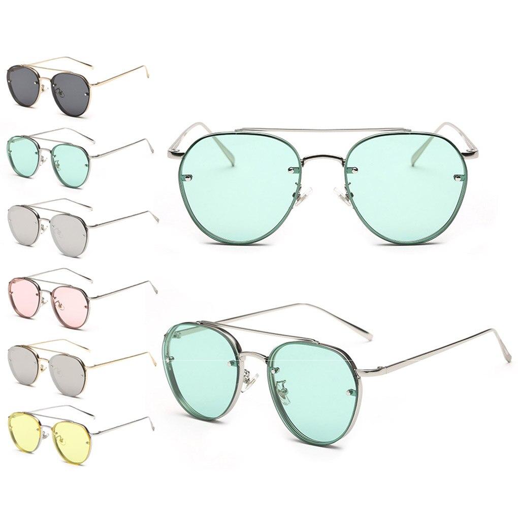 Новые приходят Классический Стиль морской листового металла UV400 Солнцезащитные очки женщин кошачий глаз солнцезащитные очки Объектив De Sol ...