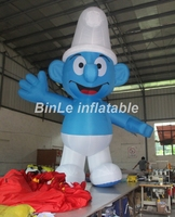 Popular outdoor giant inflatable movie cartoon characters blue figure for sale