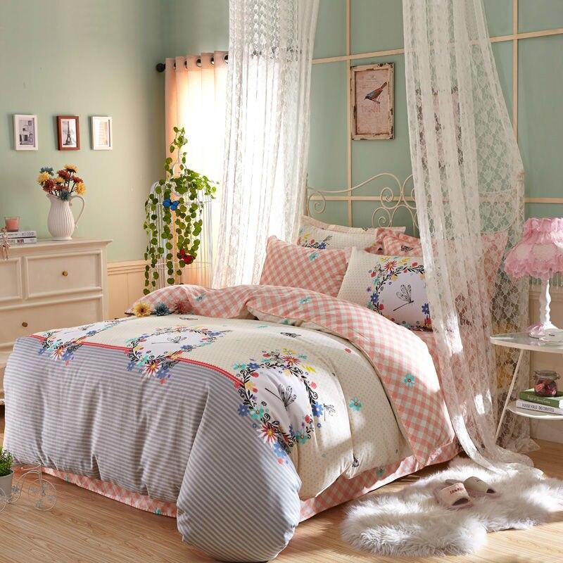 Online Get Cheap Yellow Stripe Bedding Aliexpress Com