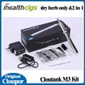 100% Genuine vaporizer cloupor cloutank m3 dry herb 2in1 cloutank m3 battery kit with 510 thread cloupor e cigs