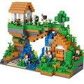 957 unids La Cascada Minecrafted Figuras de Construcción Ladrillo Juguetes Niños Juguetes Regalo Compatible Legoes