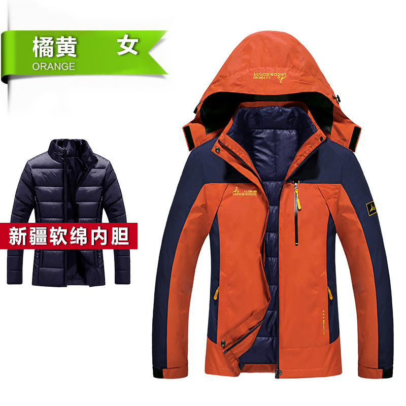 ФОТО Winter Men Women Jacket Windbreaker Camping Hiking Flecce Coat Men Outdoor Thermal Climbing Sport Jackets Chaqueta Waterproof