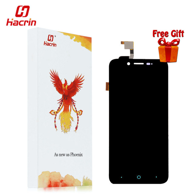 Hacrin ZTE Blade L4 LCD Display Touch Screen Digitizer Replacement with Tools Set for ZTE A460/ ZTE  Blade D T610 5.0 inches