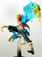 Figura de acción de Anime Marco de una pieza de 15 cm, figuras de juguete de coleccionismo nuevas de PVC, colección para regalo de Navidad