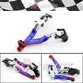 fite For HONDA CBR 929 RR 2000-2001 Motorcycle Adjustable Foldout Extendable Brake clutch lever logo CBR RR