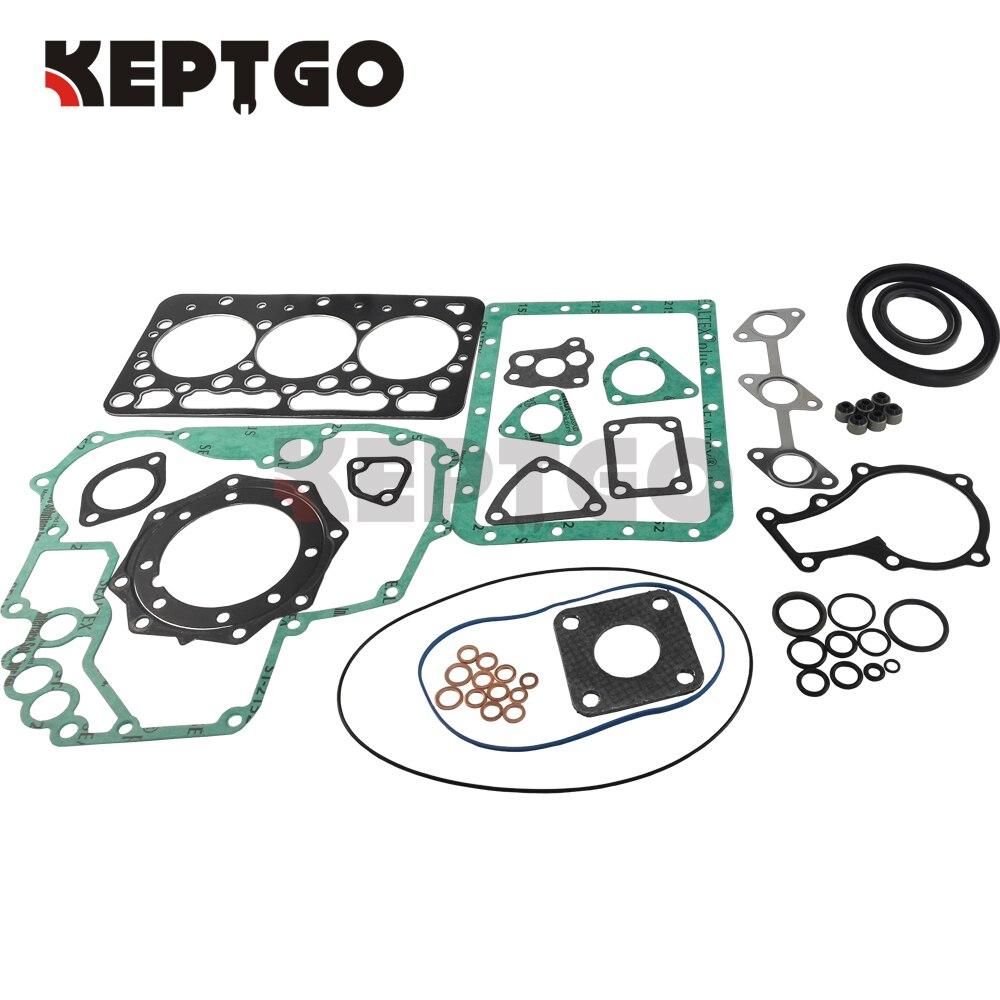 New V1902 STD Full Gasket Set Overhaul Gasket Kit For Kubota Tractor Engine