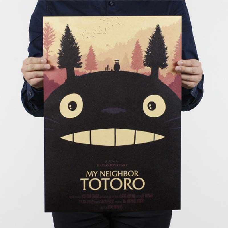 خمر ملصق الفيلم ريترو أنيمي سيارة الملصقات والمطبوعات القهوة/المطبخ/غرفة المعيشة اللوحة الزخرفية كرافت ورقة ملصقات جدار