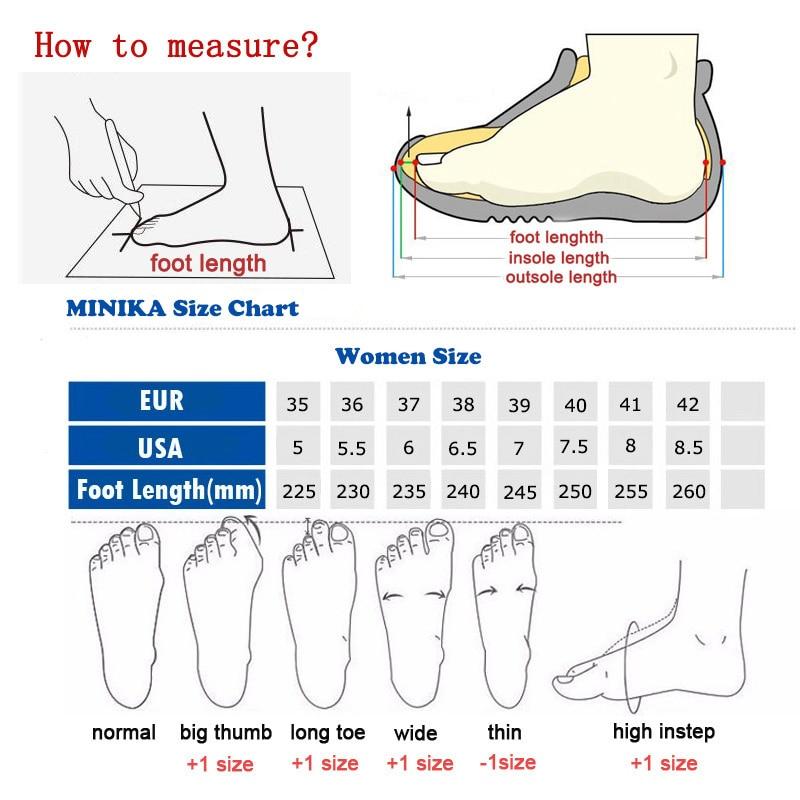 Minika Size Chart