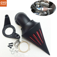 For Harley CV Carburetor Delphi V Twin Spike Cone Motorcycle Air Cleaner Intake Filters Kit Accessories
