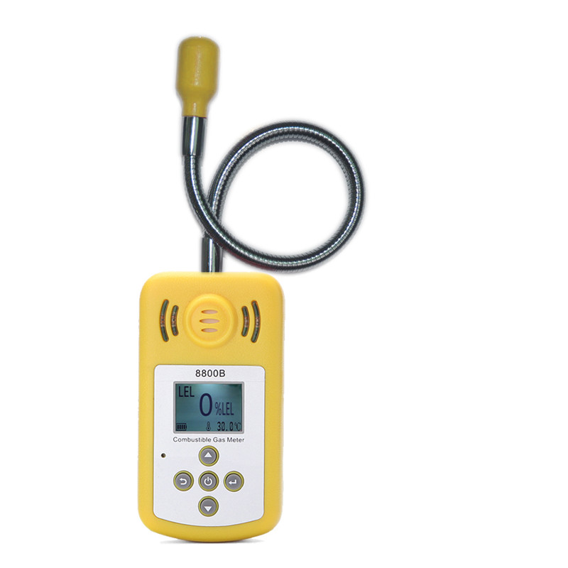 Portable Mini Combustible Gas Detector Gas Leak Tester with Sound and Light Alarm gas leak detector dy8800a combustible gas leak detector gas tester