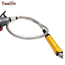 Toolfit 6mm Rectifieuse Outil Flexible Flex Arbre + 0-6mm Pièce À Main Pour Dremel Style Perceuse Électrique Outil rotatif Accessoires