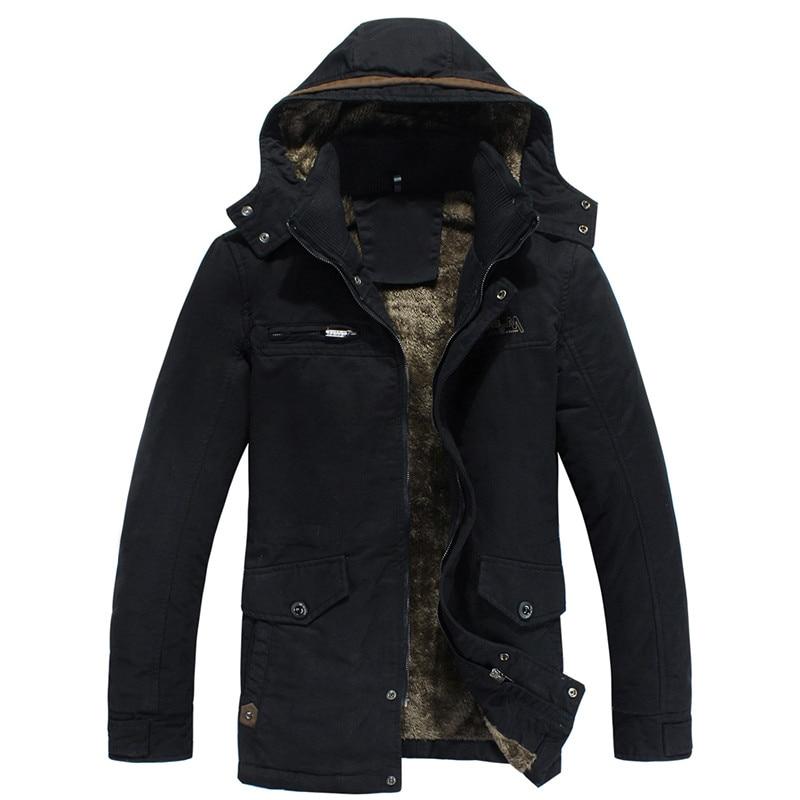 TUOLUNIU Cazadora casual de algodón para hombres de invierno - Ropa de hombre - foto 5