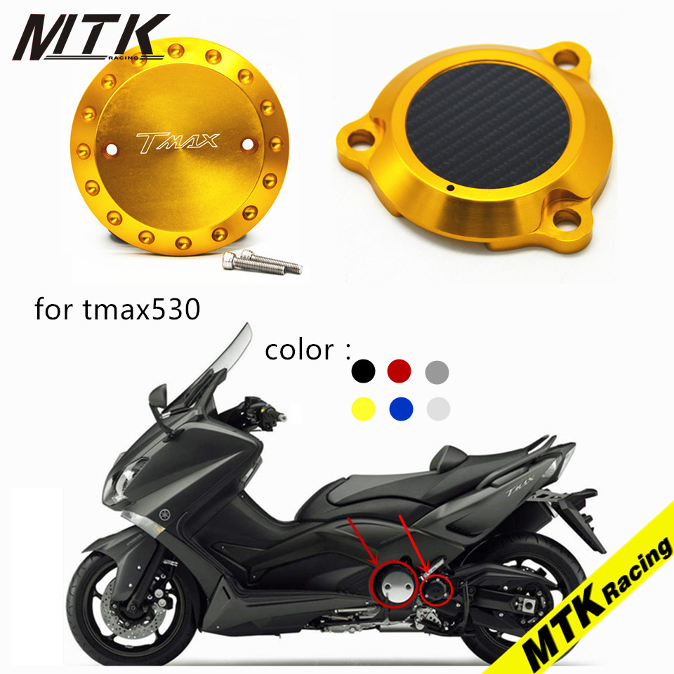 MTKRACING CNC aluminum Motorcycle for yamaha TMAX530 T-MAX 530 2012-2016 Engine Stator Protective Cover set decoration cnc aluminum motorcycle rear passenger foot pegs pedals footrests for yamaha tmax 500 tmax 530 t max500 t max530 t max mt07 mt09
