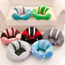 Top Baby Support Seat Plush Soft Baby Sofa Infant Learning To Sit Chair Keep Sitting Posture Comfortable For 0-6 Months Baby