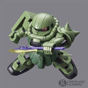 Image 3 - OHS Bandai SD CS Q Ver. Gundam Çapraz Siluet Zaku II SD Çerçeve Dahil Mobil Takım Elbise Montaj Modeli Kitleri