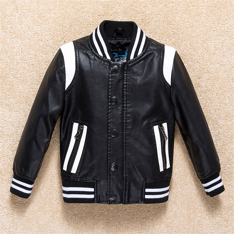 Boys Jacket 2017 Autumn Leather jacket Boys Outwear For Children Brand Kids Coats Boys Baseball Sweatershirt Baby Boy Clothes free shipping mager 10pcs lot ssr mgr 1 d4825 25a dc ac us single phase solid state relay 220v ssr dc control ac dc ac