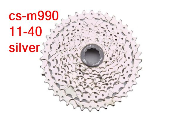 Цена за Cs m990 sunrace 9 скорость велосипед mtb кассета свободного хода 11 36 т 11 40 т
