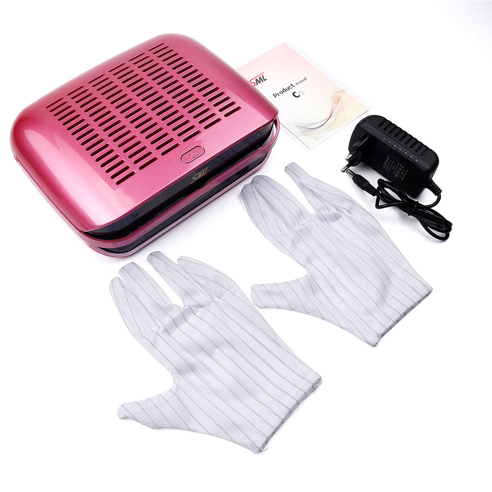 68W High Power Nail Suction Dust Collector Large Size Strong Nail Vacuum Cleaner Machine Low Noisy