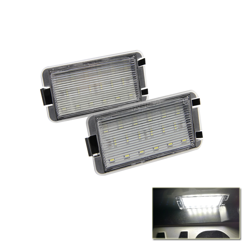 Factory supply 18SMD license number plate font b lamp b font led license plate bulbs for