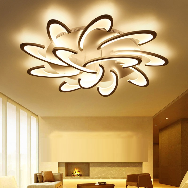 LED Chandelier Lighting for Living Room Bedroom ceiling Chandelier lights LED Surface Mounted Home Lighting Fixtures