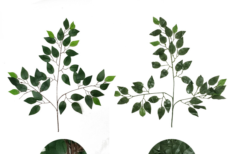 Wedding arch backdrop 63cm green artificial fake plastic plant wedding arch backdrop 63cm green artificial fake plastic plant leaves branches home garden wall decoration supplies in artificial dried flowers from home junglespirit Image collections
