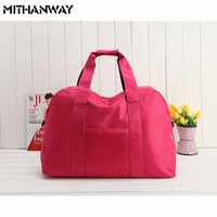 6 Colors Large Capacity Solid Color Women Men Duffel Totes Bag Multifunction Portable Sports Travel Gym