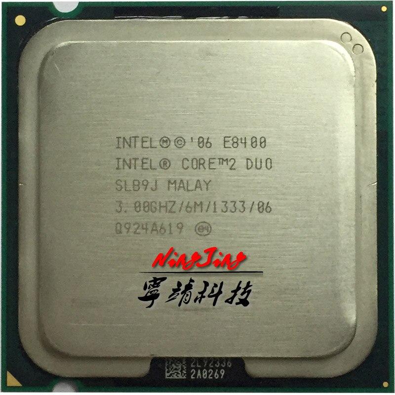 Lot of 10 Intel Core 2 Duo E8400 SLB9J Dual Core 3GHz CPU Processor