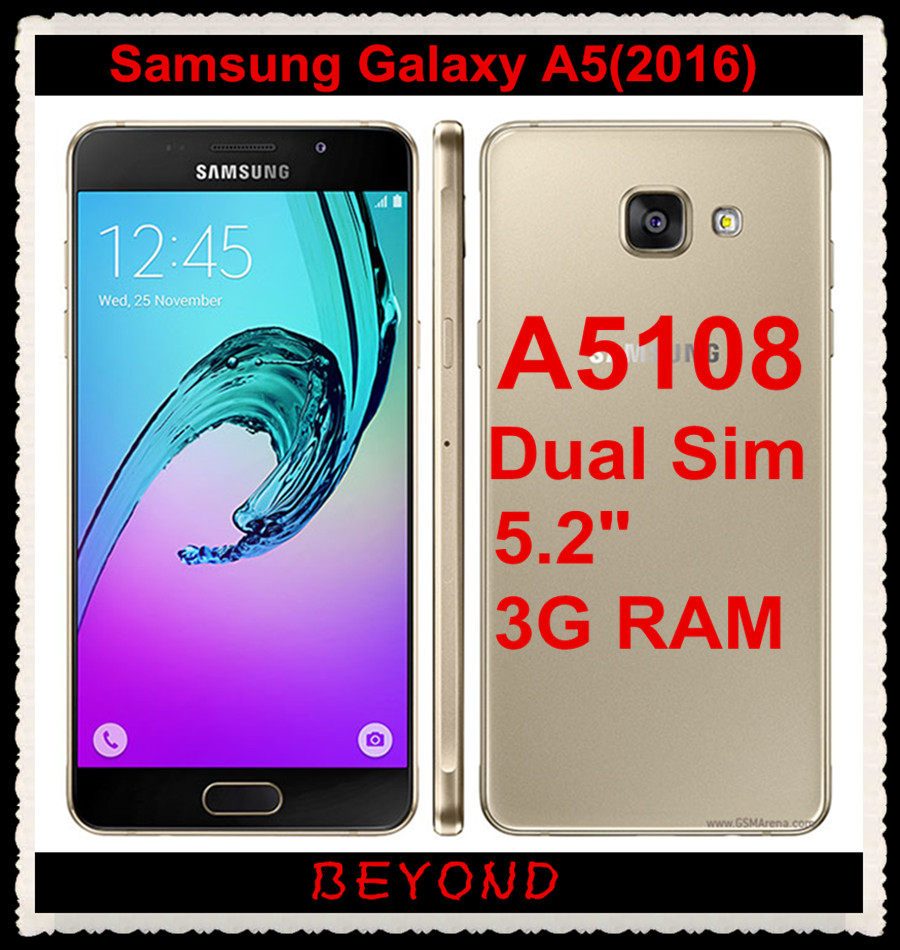 Samsung Galaxy A5 A5108 2016 Original Unlocked 4g Lte Android Mobile New Sm Ram 2 Memori 16gb Phone Dual Sim Octa Core 52 13mp 3gb Rom Exynos In Phones From