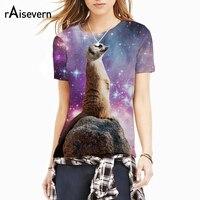 Raisevern Funny 3D T Shirt For Men Women Meerkat Standing Proud Cute Animal T Shirt Geek