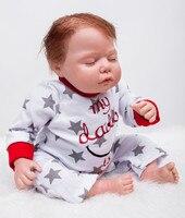 22 Handmade doll reborn for sale real sleeping newborn baby reborn menina soft dolls children bebe gift rebron bonecas