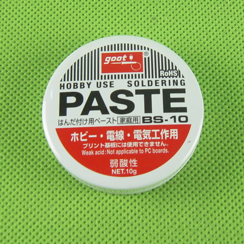 20PCS Original Goot BS-10 Weak Acid Soldering Solder Paste Flux Grease Paste