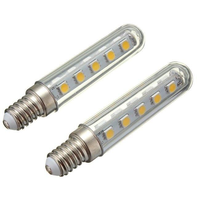 2pcs 2.5W Led Light Bulb For Kitchen Chimney Hood Exhaust Cooker 220V Warm  White