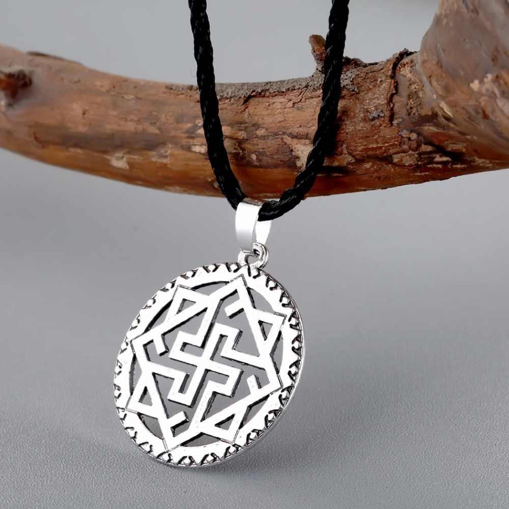 Cxwind Valkyrie Symbole słowiański wisiorek naszyjnik Viking Nordic Pagan Amulet Norse biżuteria skandynawski moda etniczne naszyjniki