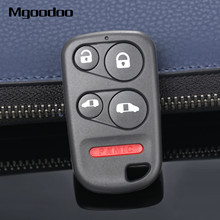 Mgoodoo 5 Buttons Keyless Remote Car Key Shell Fob Case For Honda Odyssey 2000 2001 2002 2003 2004 Auto Replacement Covers