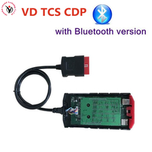 Green Board V9.0 Red nec VD TCS CDP PRO Plus Bluetooth with Full Set Cover 2015R3/2014R3 keygen as Multidiag pro for cars trucks
