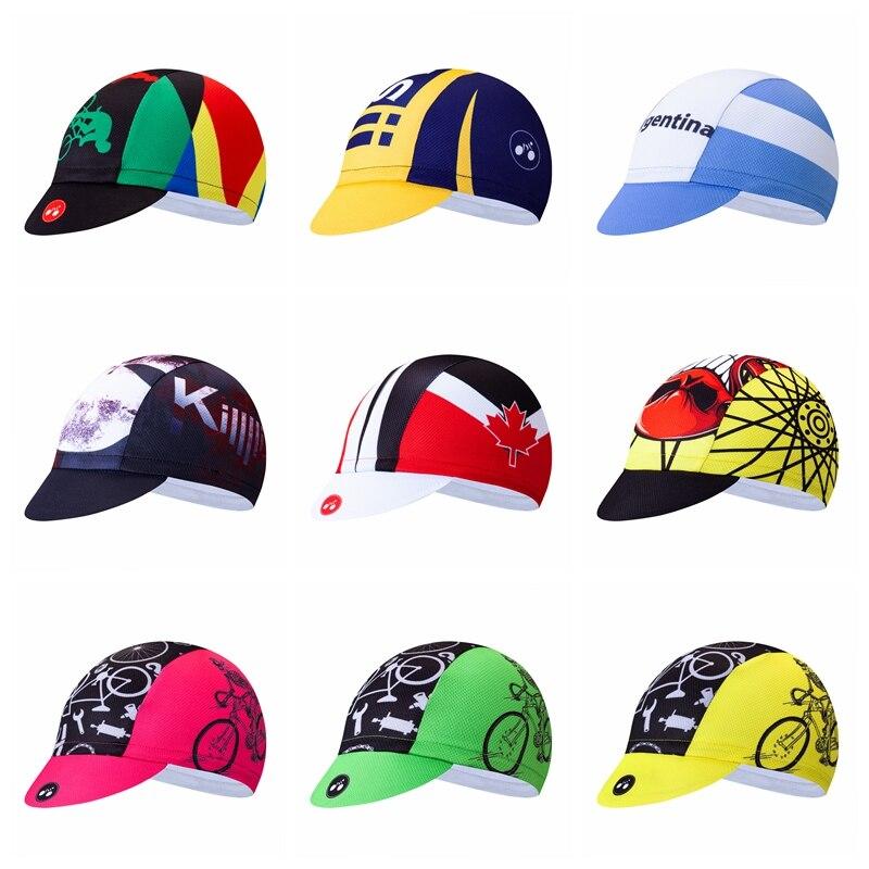 2019 Cycling Caps Men Road MTB Bike Bicycle Ciclismo hat HeadWear Sun UV Team Sp