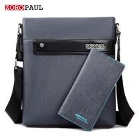 ZOROPAUL Man Vertical Men S PU Leather Bag Men Messenger Business Male Briefcase Designer Handbags High