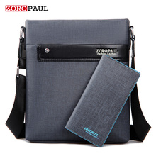 ZOROPAUL Men Fashion PU Leather Crossbady Bag Men's Messenger Business Male Designer Handbags High Quality Shoulder Bags Men