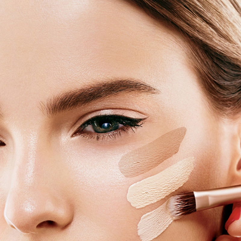 Make Up Cover Concealer Primer Strong Opaque Prevent Allergy Waterproof And Sweatproof 4 Color