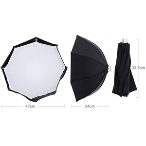 Image 3 - Godox AD S7 Multifunctional Soft Box Octagonal Honeycomb Grid Umbrella Softbox for Flash Speedlite AD180 AD360 AD200