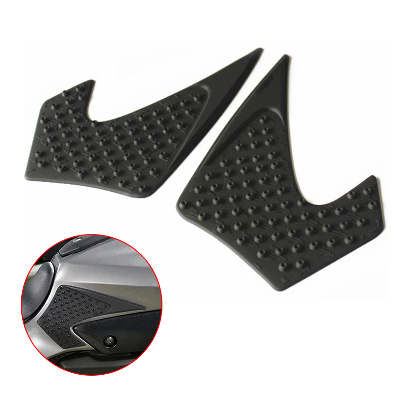 2pcs 1 Pair Left And Right Side Protector For 2013 2017 YAMAHA MT 07 FZ07 in Chromium Styling from Automobiles Motorcycles