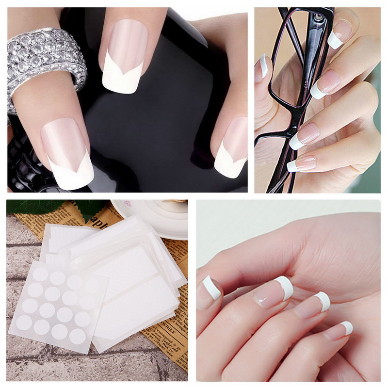 Contemporary French Manicure Nail Guides Photo - Nail Art Ideas ...