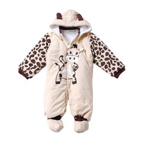 Autumn Winter Baby Boy Girl Hat Rompers Shoes Sets Newborn Layette Kids Clothes Suit Casual Tracksuit