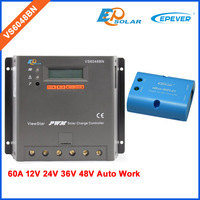 PWM EPEVER VS6048BN 60A 60amp solar panel system controller Charging use WIFI BOX Android phone APP connect